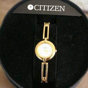 Womens Gold Citizen Watch